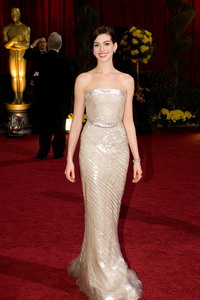 """""""The 81st Annual Academy Awards"""" (Arrivals)Anne Hathaway02-22-2009Photo by Bryan Crowe © 2009 A.M.P.A.S. - Image 23704_0224"""