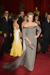 """""""The 81st Annual Academy Awards"""" (Arrivals)Meryl Streep02-22-2009Photo by Bryan Crowe © 2009 A.M.P.A.S. - Image 23704_0230"""