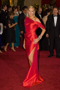 """""""The 81st Annual Academy Awards"""" (Arrivals)Heidi Klum02-22-2009Photo by Bryan Crowe © 2009 A.M.P.A.S. - Image 23704_0237"""