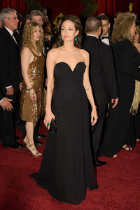 """The 81st Annual Academy Awards"" (Arrivals)Angelina Jolie02-22-2009Photo by Bryan Crowe © 2009 A.M.P.A.S. - Image 23704_0245"