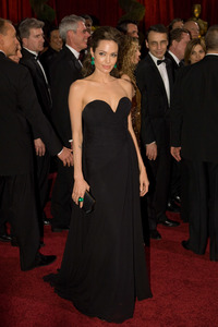 """The 81st Annual Academy Awards"" (Arrivals)Angelina Jolie02-22-2009Photo by Bryan Crowe © 2009 A.M.P.A.S. - Image 23704_0246"