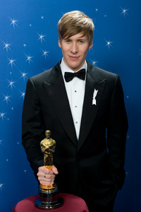 """The 81st Annual Academy Awards"" (Backstage)Dustin Lance Black02-22-2009Photo by Todd Wawrychuk © 2009 A.M.P.A.S. - Image 23704_0262"