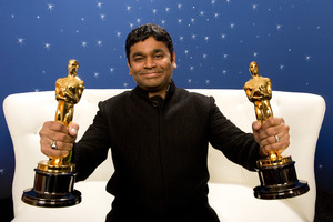 """""""The 81st Annual Academy Awards"""" (Backstage)A.R. Rahman02-22-2009Photo by Todd Wawrychuk © 2009 A.M.P.A.S. - Image 23704_0267"""