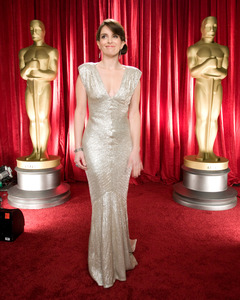 """""""The 81st Annual Academy Awards"""" (Backstage)Tina Fey02-22-2009Photo by Michael Yada © 2009 A.M.P.A.S. - Image 23704_0342"""