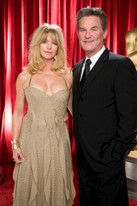 """The 81st Annual Academy Awards"" (Backstage)Goldie Hawn, Kurt Russell02-22-2009Photo by Michael Yada © 2009 A.M.P.A.S. - Image 23704_0349"
