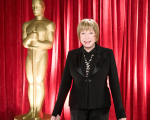"""""""The 81st Annual Academy Awards"""" (Backstage)Shirley MacLaine02-22-2009Photo by Michael Yada © 2009 A.M.P.A.S. - Image 23704_0355"""