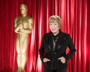 """The 81st Annual Academy Awards"" (Backstage)Shirley MacLaine02-22-2009Photo by Michael Yada © 2009 A.M.P.A.S. - Image 23704_0356"