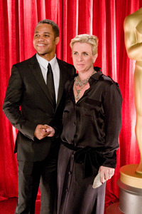 """The 81st Annual Academy Awards"" (Backstage)Cuba Gooding Jr., Sara Kapfer02-22-2009Photo by Ivan Vejar © 2009 A.M.P.A.S. - Image 23704_0375"