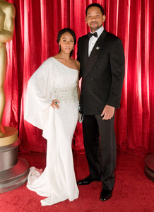 """The 81st Annual Academy Awards"" (Backstage)Will Smith, Jada Pinkett Smith02-22-2009Photo by Ivan Vejar © 2009 A.M.P.A.S. - Image 23704_0376"