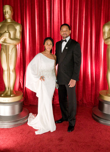 """The 81st Annual Academy Awards"" (Backstage)Will Smith, Jada Pinkett Smith02-22-2009Photo by Ivan Vejar © 2009 A.M.P.A.S. - Image 23704_0377"