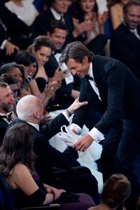 """The 81st Annual Academy Awards"" (Telecast)Hugh Jackman, Frank Langella02-22-2009Photo by Darren Decker © 2009 A.M.P.A.S. - Image 23704_0423"