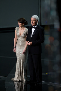 """The 81st Annual Academy Awards"" (Telecast)Tina Fey, Steve Martin02-22-2009Photo by Darren Decker © 2009 A.M.P.A.S. - Image 23704_0436"