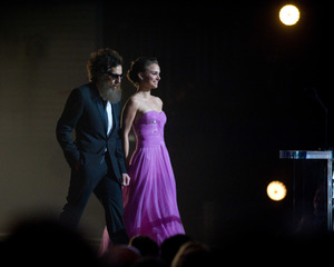"""The 81st Annual Academy Awards"" (Telecast)Ben Stiller, Natalie Portman02-22-2009Photo by Greg Harbaugh © 2009 A.M.P.A.S. - Image 23704_0445"