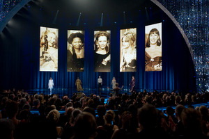 """The 81st Annual Academy Awards"" (Telecast)Eva Marie Saint, Whoopi Goldberg, Tilda Swinton, Goldie Hawn, Anjelica Huston02-22-2009Photo by Michael Yada © 2009 A.M.P.A.S.  - Image 23704_0453"