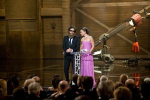 """The 81st Annual Academy Awards"" (Telecast)Ben Stiller, Natalie Portman02-22-2009Photo by Michael Yada © 2009 A.M.P.A.S. - Image 23704_0455"