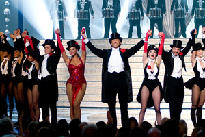 """The 81st Annual Academy Awards"" (Telecast)Vanessa Hudgens, Zac Efron, Beyonce Knowles, Hugh Jackman, Amanda Seyfried, Dominic Cooper02-22-2009Photo by Michael Yada © 2009 A.M.P.A.S. - Image 23704_0497"