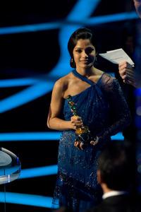 """The 81st Annual Academy Awards"" (Telecast)Freida Pinto02-22-2009Photo by Darren Decker © 2009 A.M.P.A.S. - Image 23704_0504"