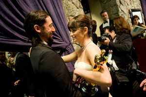 """""""The 81st Annual Academy Awards"""" (Telecast)Adrien Brody, Penelope Cruz02-22-2009Photo by Richard Harbaugh © 2009 A.M.P.A.S. - Image 23704_0534"""