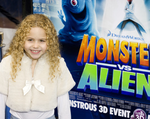 """Monsters vs. Aliens"" (Premiere)Isabella Acres03-22-2009 / Gibson Amphitheatre / Universal City, CA / DreamWorks / Photo by Benny Haddad - Image 23707_0045"