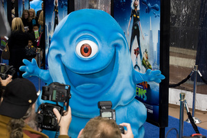 """Monsters vs. Aliens"" (Premiere)B.O.B.03-22-2009 / Gibson Amphitheatre / Universal City, CA / DreamWorks / Photo by Benny Haddad - Image 23707_0053"