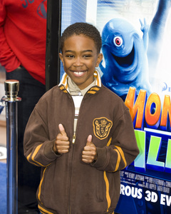"""Monsters vs. Aliens"" (Premiere)Khamani Griffin03-22-2009 / Gibson Amphitheatre / Universal City, CA / DreamWorks / Photo by Benny Haddad - Image 23707_0170"