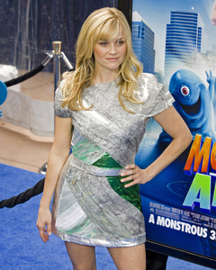 """""""Monsters vs. Aliens"""" (Premiere)Reese Witherspoon03-22-2009 / Gibson Amphitheatre / Universal City, CA / DreamWorks / Photo by Benny Haddad - Image 23707_0604"""