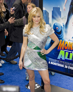 """""""Monsters vs. Aliens"""" (Premiere)Reese Witherspoon03-22-2009 / Gibson Amphitheatre / Universal City, CA / DreamWorks / Photo by Benny Haddad - Image 23707_0606"""