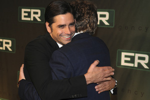 """""""ER"""" Series Finale PartyJohn Stamos, John Wells3-28-2009 / Social Hollywood / Hollywood, CA / Warner Brothers / Photo by Heather Holt   - Image 23708_0065"""