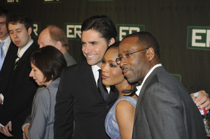 """""""ER"""" Series Finale PartyJohn Stamos, Angela Bassett, Courtney B. Vance3-28-2009 / Social Hollywood / Hollywood, CA / Warner Brothers / Photo by Heather Holt   - Image 23708_0117"""