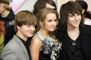 """""""Hannah Montana: The Movie"""" (Premiere)Jason Earles, Emily Osment, Mitchel Musso04-02-2009 / El Capitan Theatre / Hollywood, CA / Walt Disney Pictures / Photo by Benny Haddad - Image 23710_0010"""