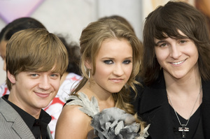 """""""Hannah Montana: The Movie"""" (Premiere)Jason Earles, Emily Osment, Mitchel Musso04-02-2009 / El Capitan Theatre / Hollywood, CA / Walt Disney Pictures / Photo by Benny Haddad - Image 23710_0011"""