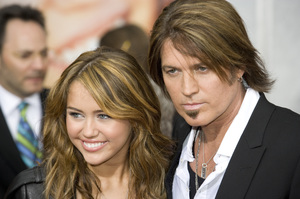 """Hannah Montana: The Movie"" (Premiere)Miley Cyrus, Billy Ray Cyrus04-02-2009 / El Capitan Theatre / Hollywood, CA / Walt Disney Pictures / Photo by Benny Haddad - Image 23710_0055"
