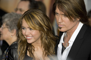 """Hannah Montana: The Movie"" (Premiere)Miley Cyrus, Billy Ray Cyrus04-02-2009 / El Capitan Theatre / Hollywood, CA / Walt Disney Pictures / Photo by Benny Haddad - Image 23710_0056"