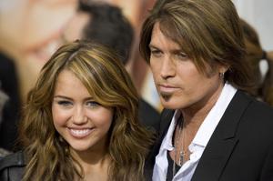 """Hannah Montana: The Movie"" (Premiere)Miley Cyrus, Billy Ray Cyrus04-02-2009 / El Capitan Theatre / Hollywood, CA / Walt Disney Pictures / Photo by Benny Haddad - Image 23710_0057"