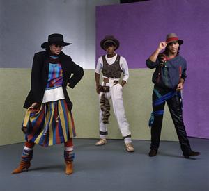 Shalamar (Howard Hewett, Jody Watley, Jeffrey Daniel)October 7, 1982 © 1982 Bobby Holland - Image 23726_0002