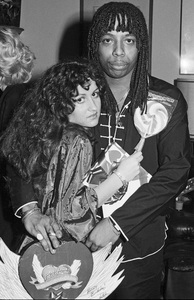 Teena Marie and Rick James in Los Angeles1979 © 1979 Bobby Holland - Image 23730_0006