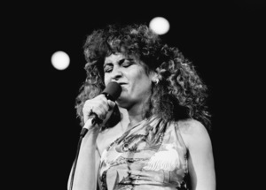 Teena Marie on stage in Los Angeles 1980 © 1980 Bobby Holland - Image 23730_0015