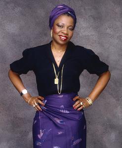 Marie Josephine Kama (aka Patience Dabany) circa 1980 © 1980 Bobby Holland - Image 23733_0005