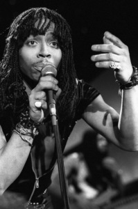 Rick James and the Stone City Band performing live during the taping of a television show in Hollywood1979© 1979 Bobby Holland - Image 23742_0024