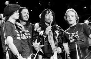 Rick James with Stone City Band in Los Angeles, 1982 © 1982 Bobby Holland - Image 23745_0006