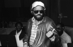 Berry Gordy at Motown Records Recording Studios in Hollywood circa mid 1970s © 1978 Bobby Holland - Image 23751_0102