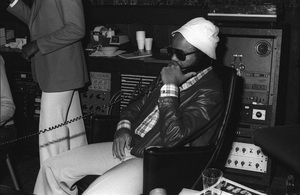 Berry Gordy at Motown Records Recording Studios in Hollywood circa mid 1970s © 1978 Bobby Holland - Image 23751_0103