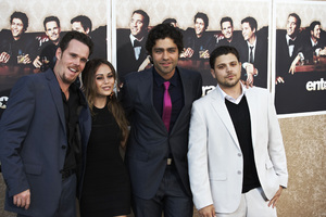 """Entourage"" Premiere Kevin Dillon, Alexis Dziena, Adrian Grenier, Jerry Ferrara7-9-2009 / The Paramount Theater / Hollywood, CA / Paramount Pictures / Photo by Benny Haddad - Image 23752_0077"