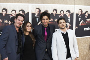 """""""Entourage"""" Premiere Kevin Dillon, Alexis Dziena, Adrian Grenier, Jerry Ferrara7-9-2009 / The Paramount Theater / Hollywood, CA / Paramount Pictures / Photo by Benny Haddad - Image 23752_0078"""