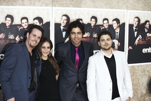 """Entourage"" Premiere Kevin Dillon, Alexis Dziena, Adrian Grenier, Jerry Ferrara7-9-2009 / The Paramount Theater / Hollywood, CA / Paramount Pictures / Photo by Benny Haddad - Image 23752_0080"