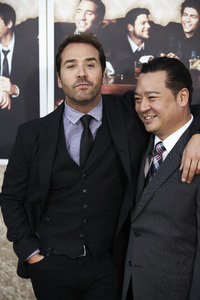 """Entourage"" Premiere Jeremy Piven and Rex Lee7-9-2009 / The Paramount Theater / Hollywood, CA / Paramount Pictures / Photo by Benny Haddad - Image 23752_0114"