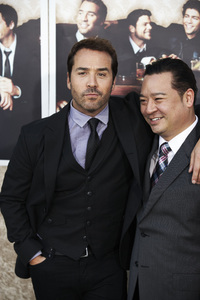"""Entourage"" Premiere Jeremy Piven and Rex Lee7-9-2009 / The Paramount Theater / Hollywood, CA / Paramount Pictures / Photo by Benny Haddad - Image 23752_0115"