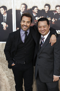 """Entourage"" Premiere Jeremy Piven and Rex Lee7-9-2009 / The Paramount Theater / Hollywood, CA / Paramount Pictures / Photo by Benny Haddad - Image 23752_0116"