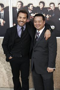 """Entourage"" Premiere Jeremy Piven and Rex Lee7-9-2009 / The Paramount Theater / Hollywood, CA / Paramount Pictures / Photo by Benny Haddad - Image 23752_0117"