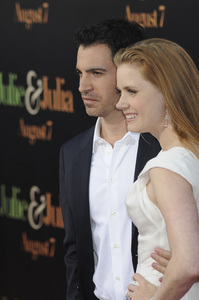 """""""Julie & Julia"""" Premiere Amy Adams & Chris Messina7-27-2009 / Mann Village Theater / Westwood, CA / Sony Pictures / Photo by Heather Holt - Image 23754_0211"""